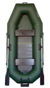 Гребная лодка Дельта-260 с транцем и сланью